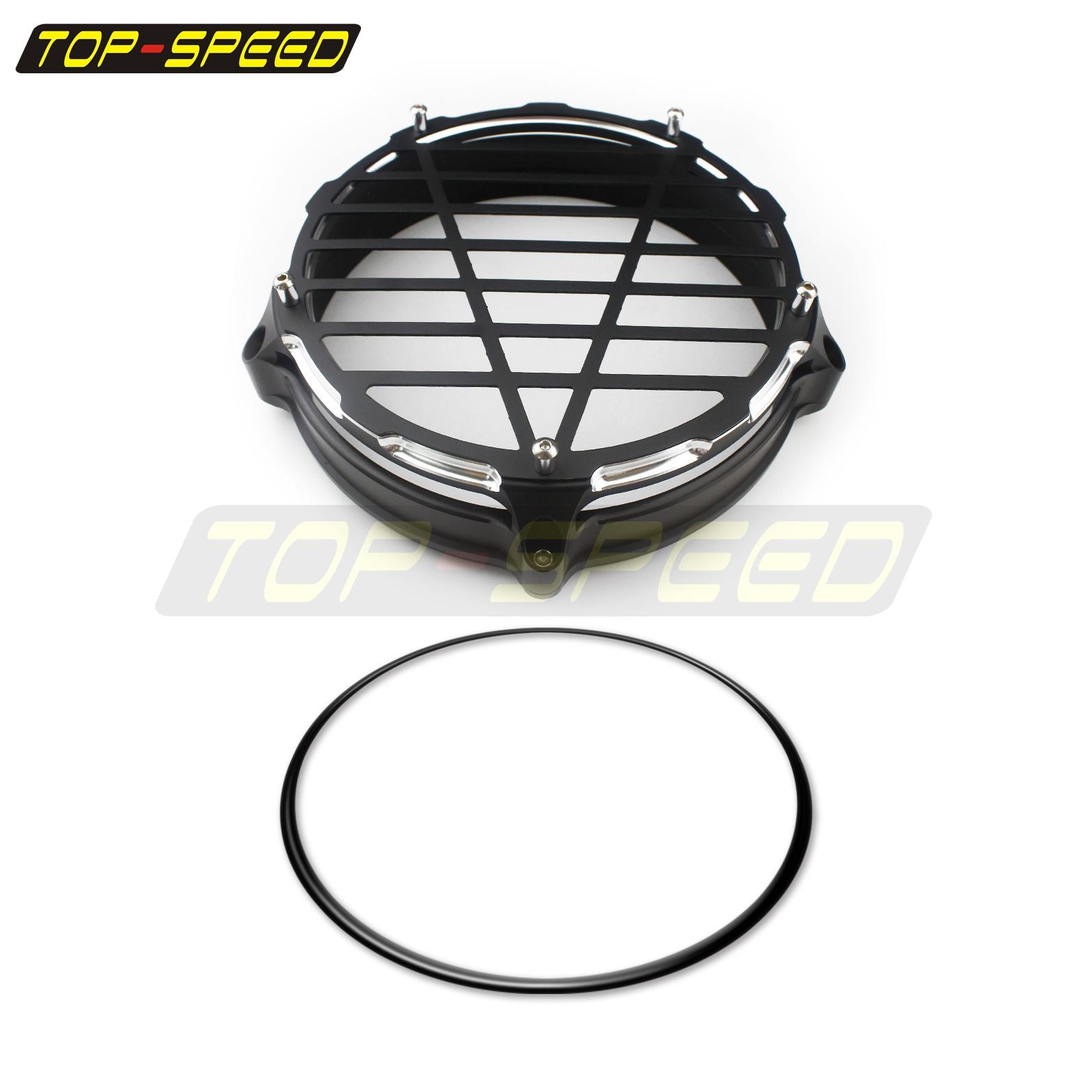 Aluminum Motorcycle Headlight Bezel Trim Ring For BMW R nine T 2014-2019 Black