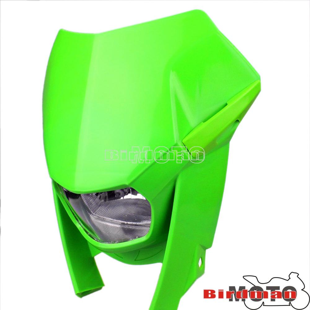 Universal Dual Sport Naked Dirt Bike Headlamp Headlight