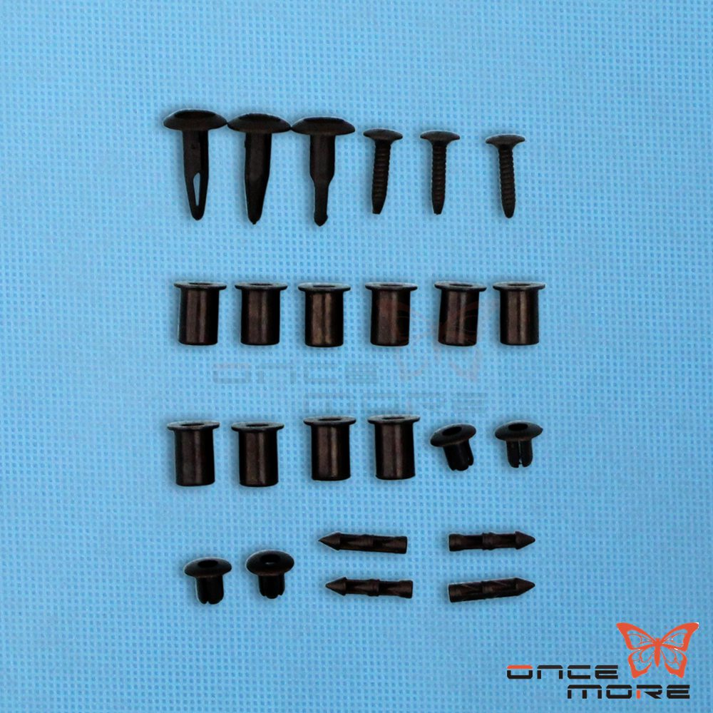 113 PCS Set Complete Fairing Bolt Kit Body Screws For Kawasaki EX 250  2008-2009