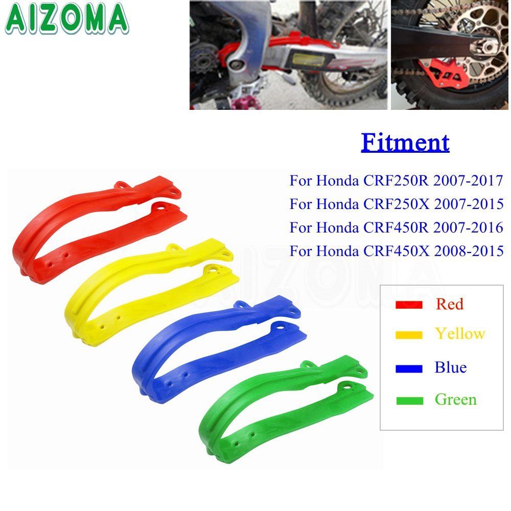 Chain Guide Slider Swing Arm Rear Fit for Honda CRF 250//450 Motorcycle