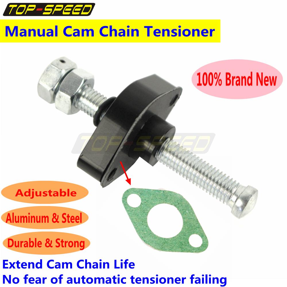 Manual CNC Cam Timing Chain Tensioner Adjuster Fits Yamaha TTR 225 250 XT  250 TT