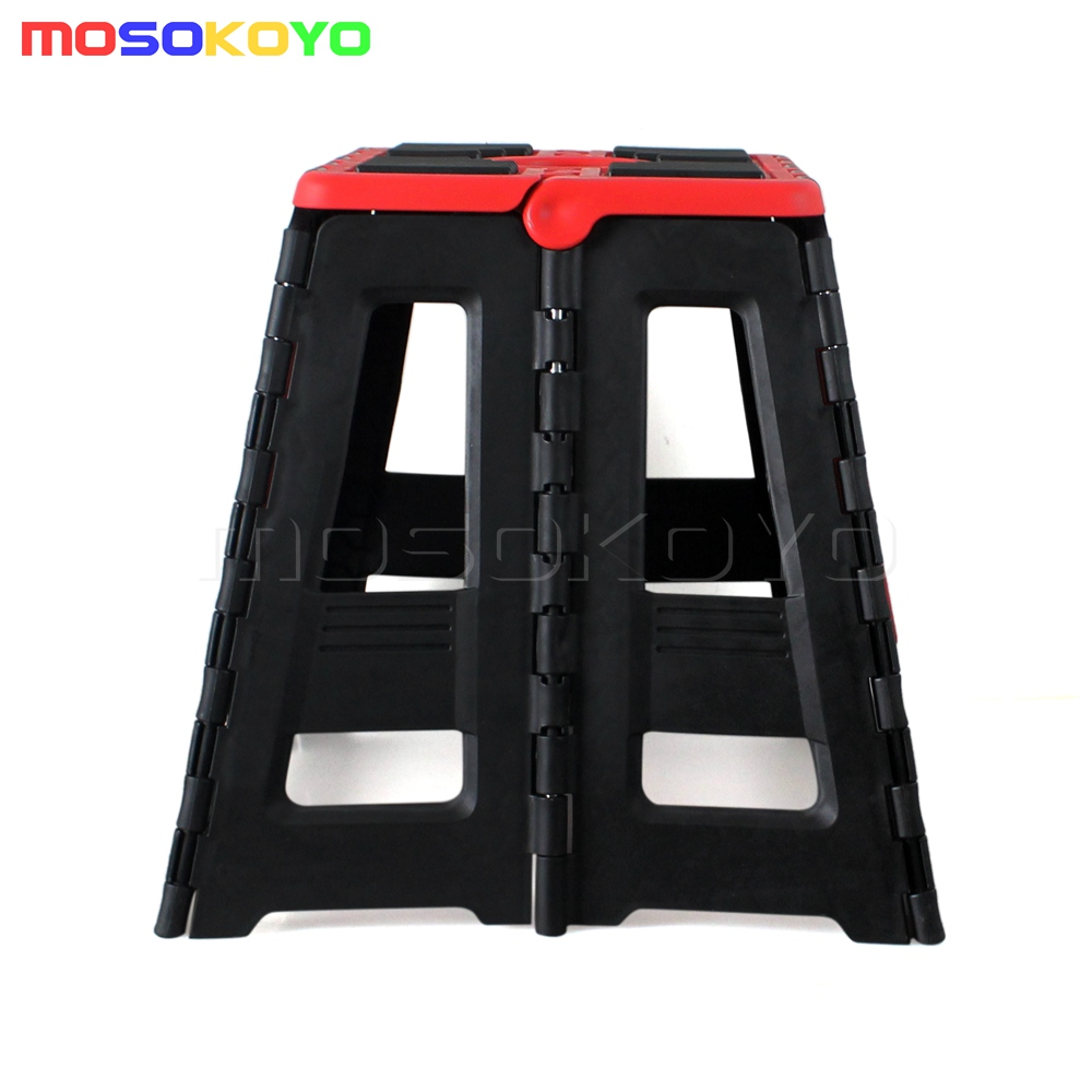 Cool Details About Motorcycle Fold Step Stool Folding Bike Box Stand Universal Motocross Offroad Mx Short Links Chair Design For Home Short Linksinfo