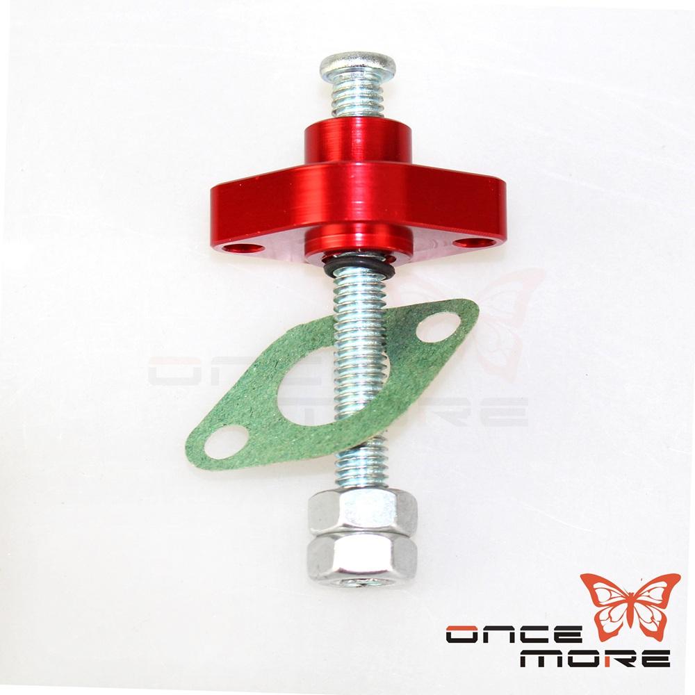 Red CRU Timing Cam Chain Tensioner Adjuster Fit Vn 750 Vulcan 86-06 Klx250 94-96