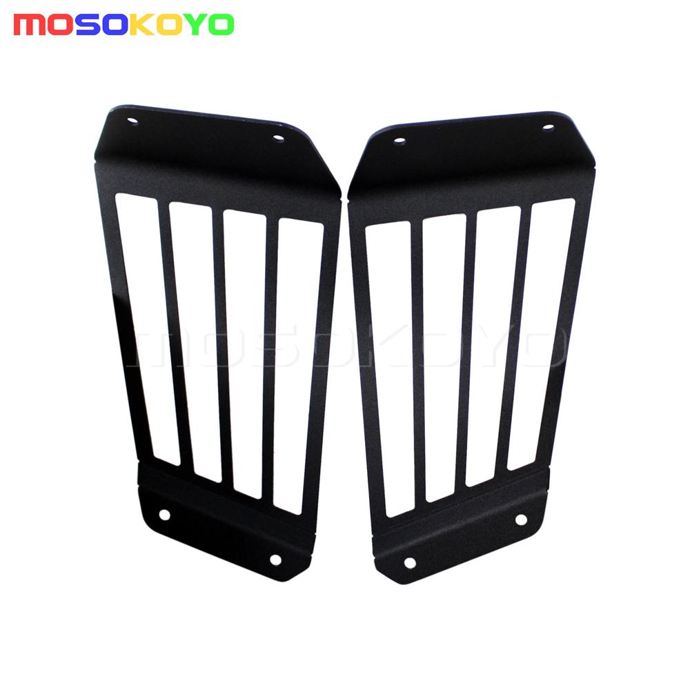 Pair Tail Light Lamp Guards Cover For ATV Kawasaki Teryx4 12-13 CAMO LE 750 EPS