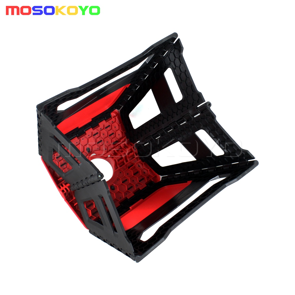 Admirable Details About Motorcycle Fold Step Stool Folding Bike Box Stand Universal Motocross Offroad Mx Short Links Chair Design For Home Short Linksinfo
