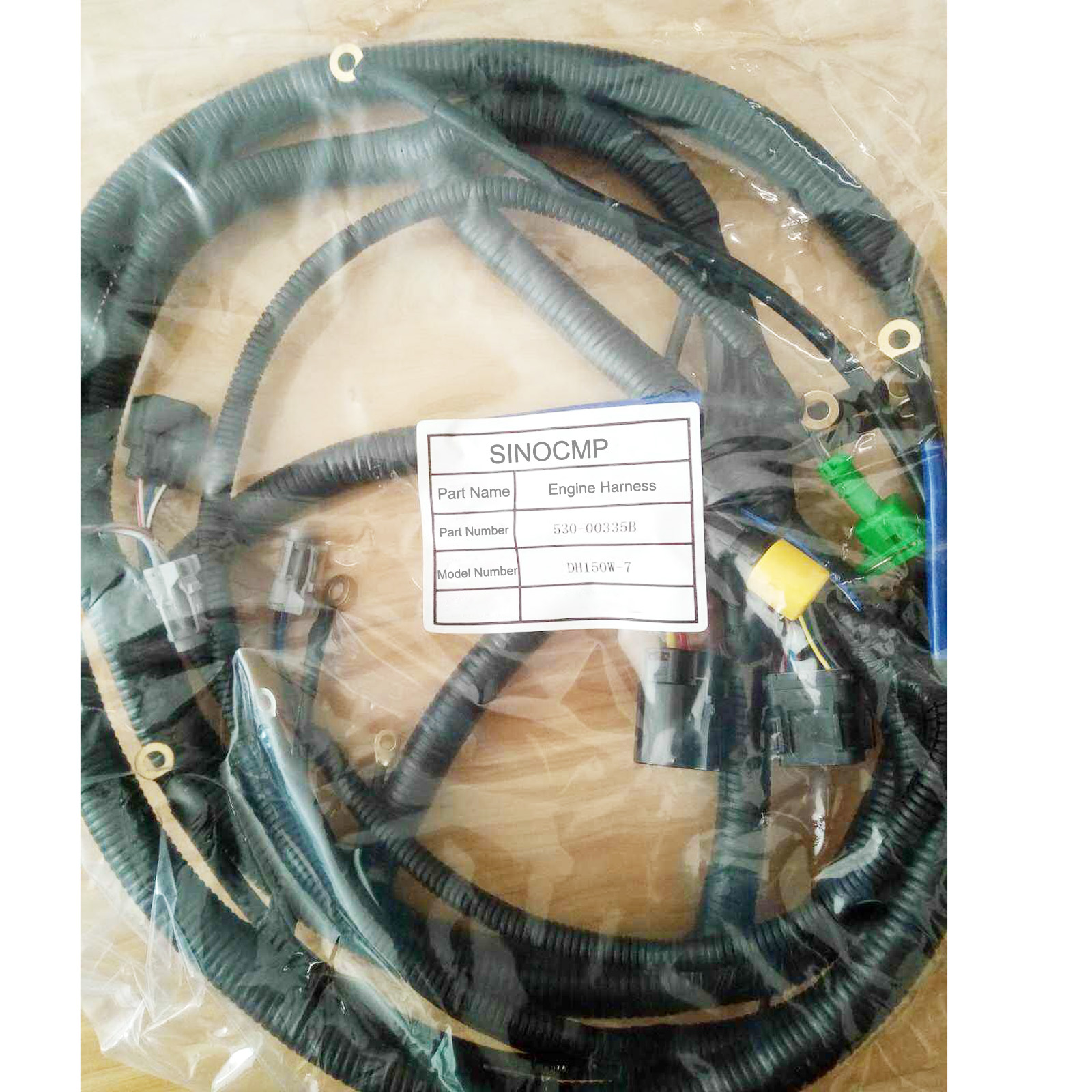 Engine Wiring Harness 2530-1608B For Daewoo Doosan DH220-5 Excavator