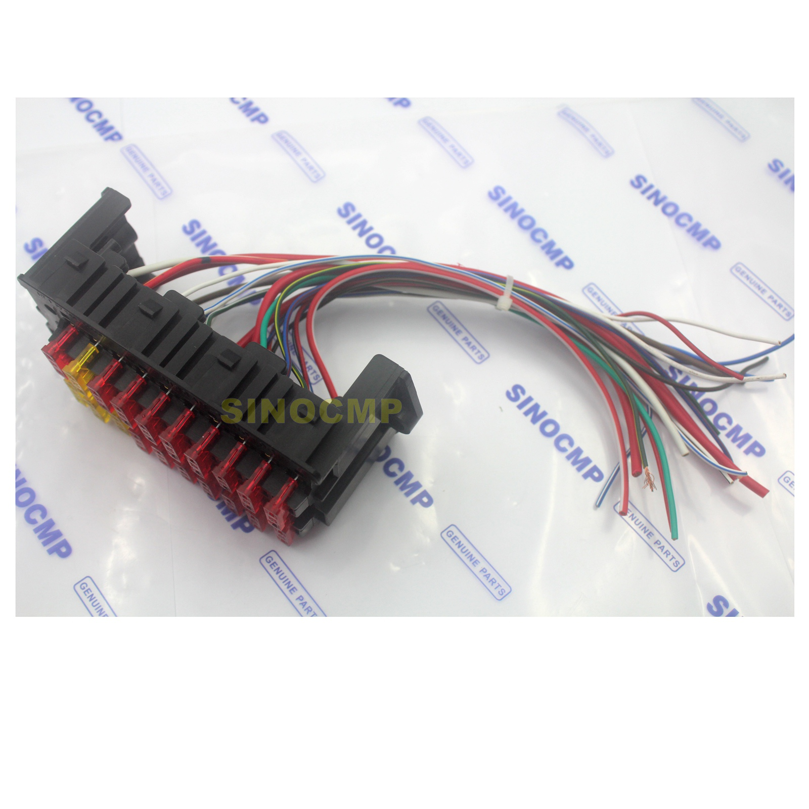 Fuse Box Assembly For Komatsu Pc 7 Pc200 Pc220 Pc300 Excavator Parts Of A