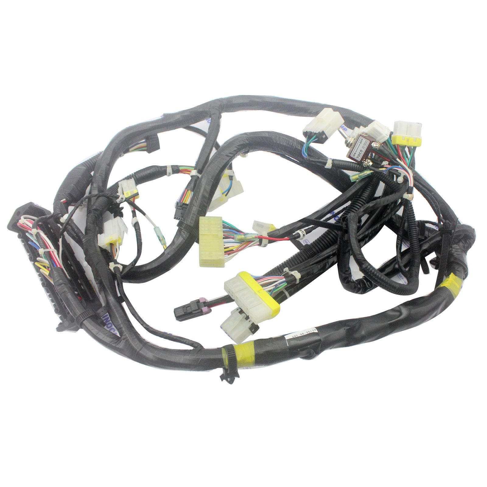 Komatsu Excavator Electrical Schematic Diagram Wiring And Excavators 20y 06 23980 Internal Cabin Harness For Pc200 6 Pc120