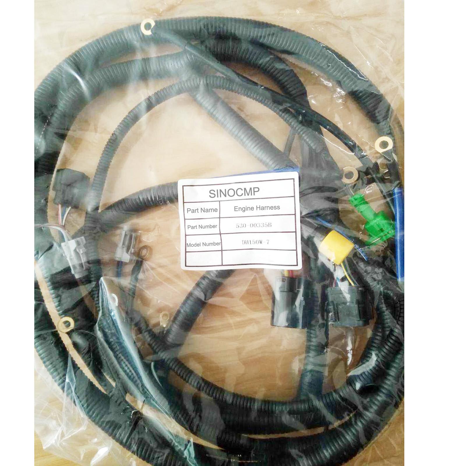 Engine Wiring Harness 530y00475 For Daewoo Doosan Dh150
