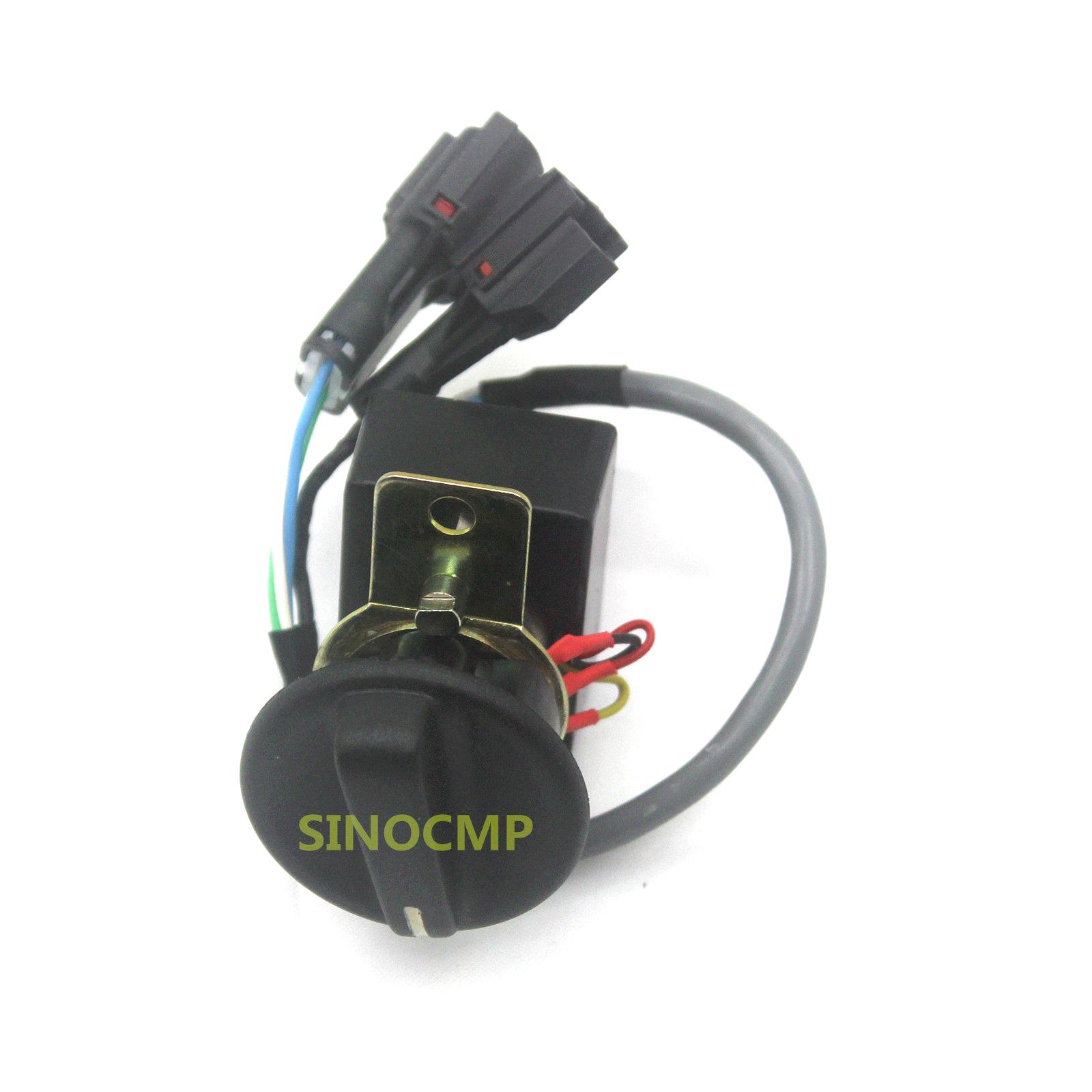 Fuel Selector Switch VOE 14503037 For Volvo EC140B EC160B EC210B Excavator