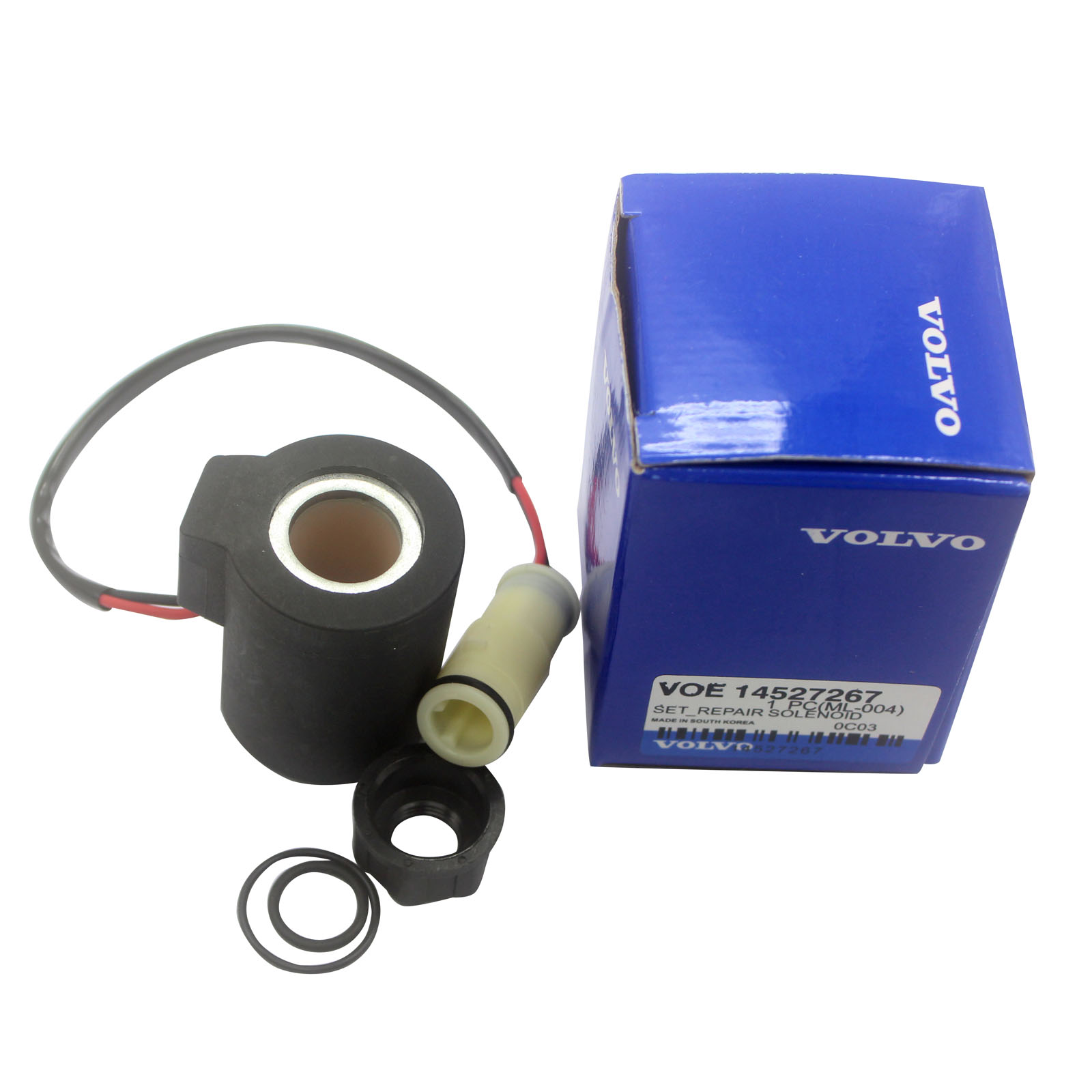 Solenoid Valve KDRDE5K-20 For Volvo EC140 EC160 EC210 EC240 EC290 EC330 EC360