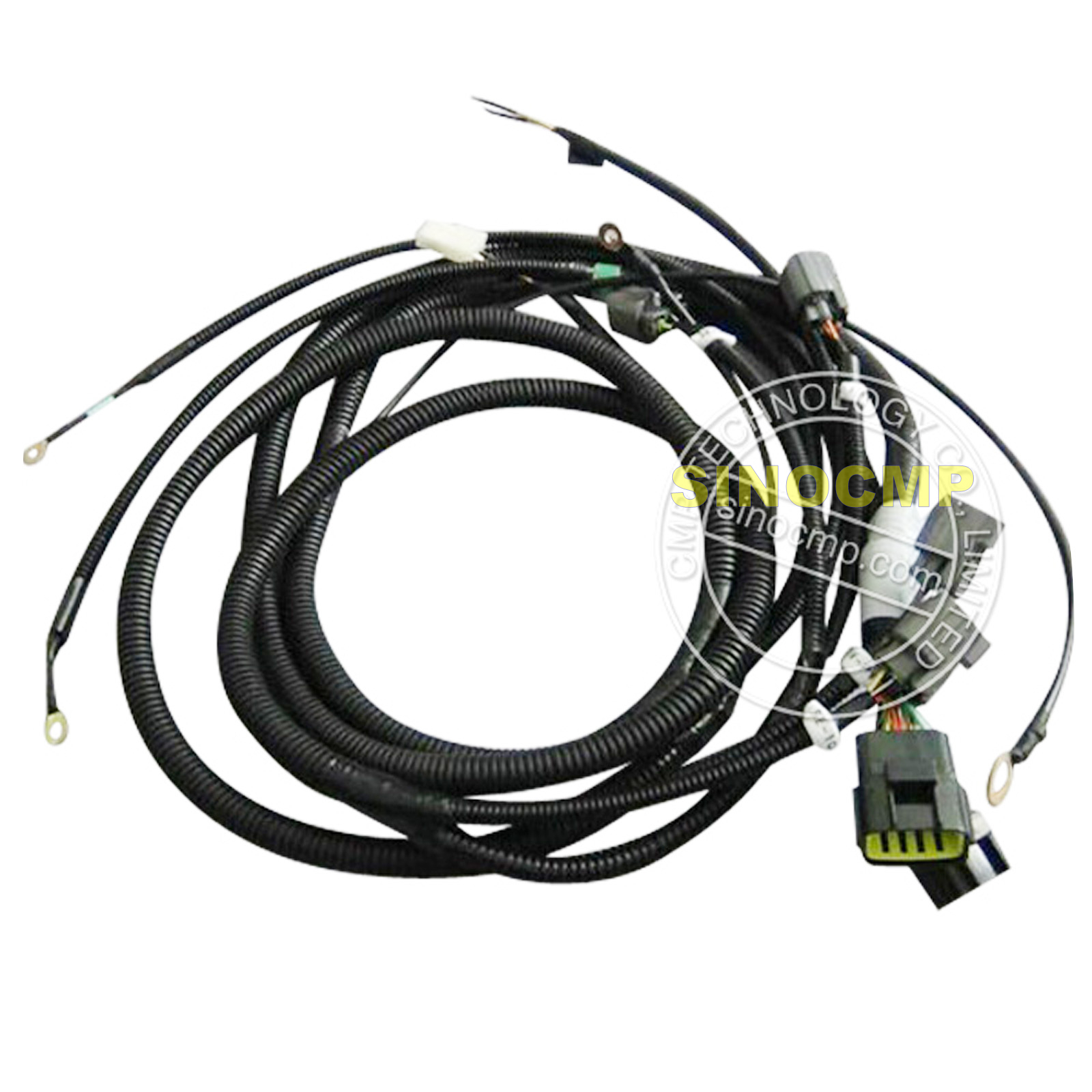 Plete Wiring Harness Ebay Diagram Third Level Aircraft Library Wire Assembly Hydraulic Pump For Kobelco