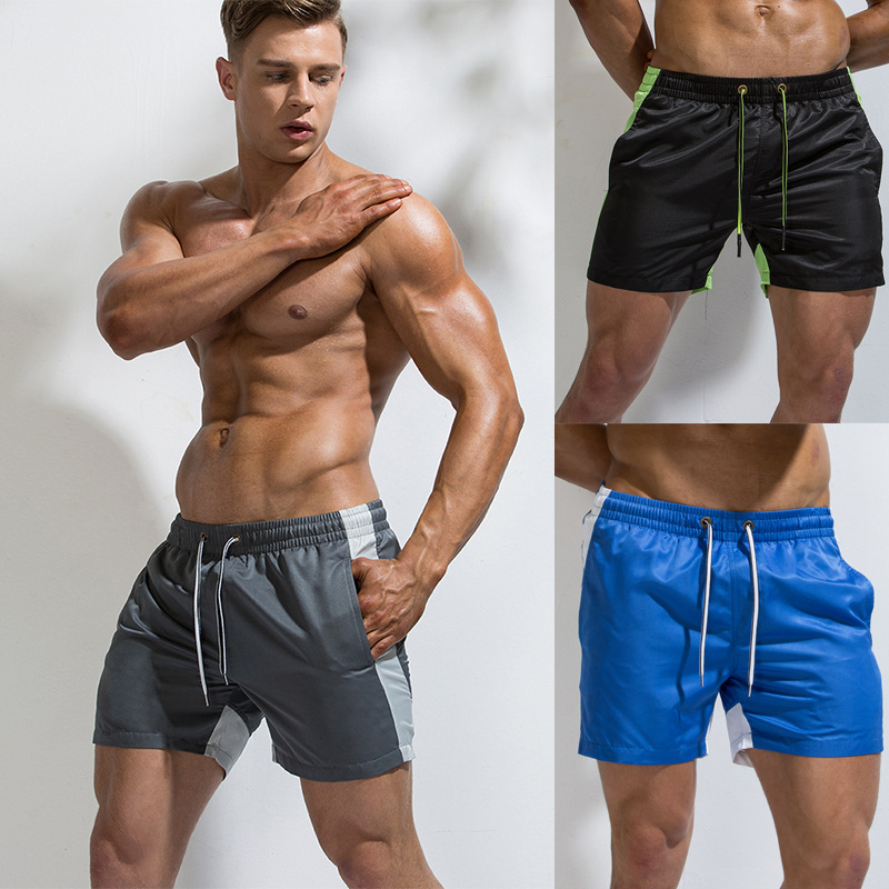 Mens Quick Dry Breathable Gym Running Shorts Plus Size Knee Length Outdoor Sports Hiking Short Pants Mumustar