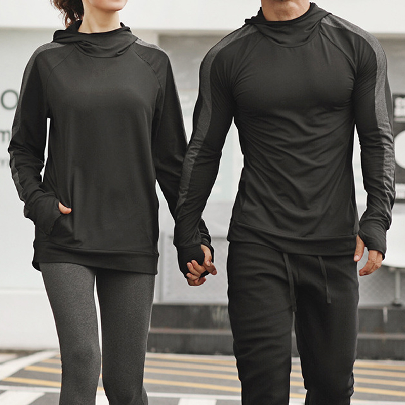 Men/'s Gym Workout Long Sleeve Hoodies Sports Pullover Casual Hooded Sweatshirts