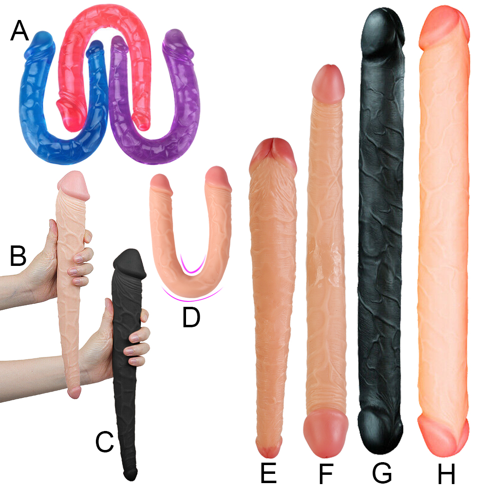 sided vibrator Double