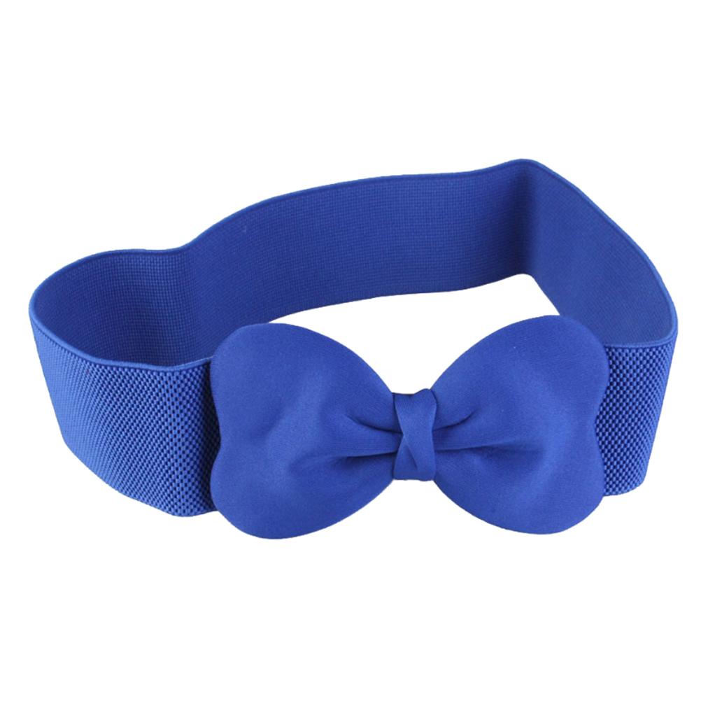 Cute-Bowknot-Sweet-Elastic-Ladies-Wide-Belt-Coat-Skirt-Elastic-Belts-for-Dresses