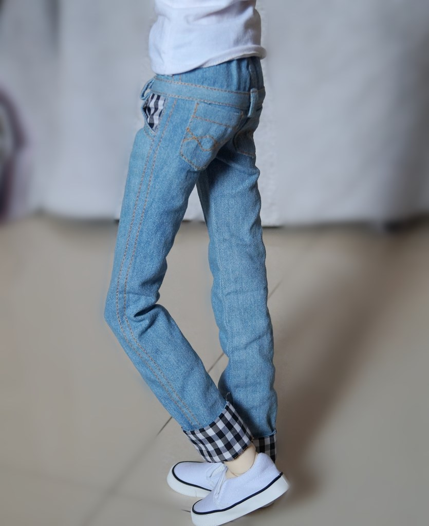 Army Green Pants Overalls Outfits For 1//4 17in BJD MSD AOD AS AOD dd dz DOLL