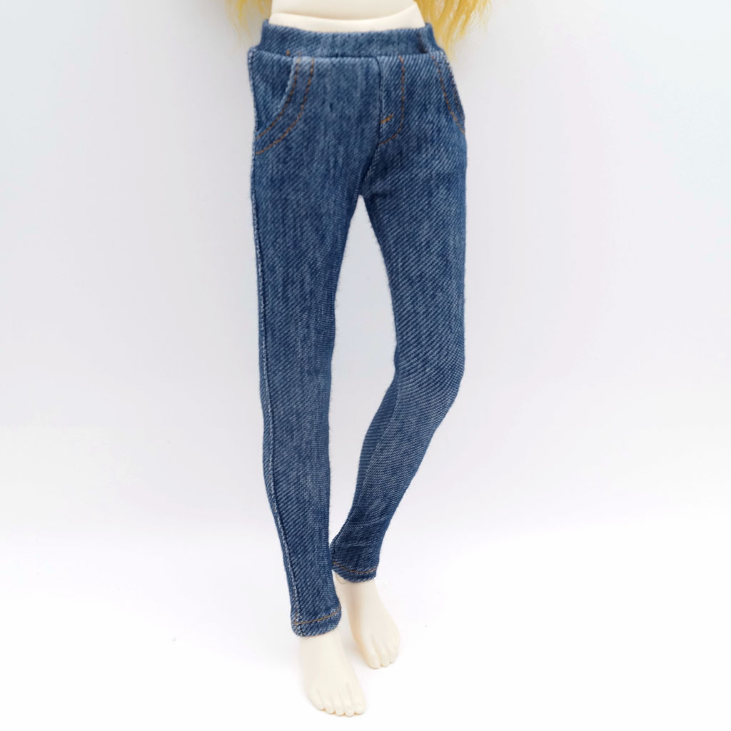 Blue Skinny Jeans Pants For Woman BJD 1/3 SD AOD AS Luts dod