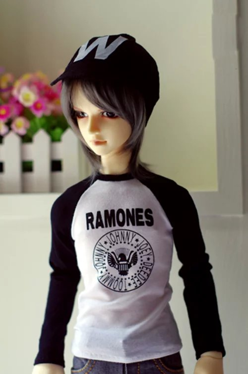 "BJD Black Tank Top Clothing  For 1//4 17/"" 44cm MSD DK DZ AOD dd Volks Doll"