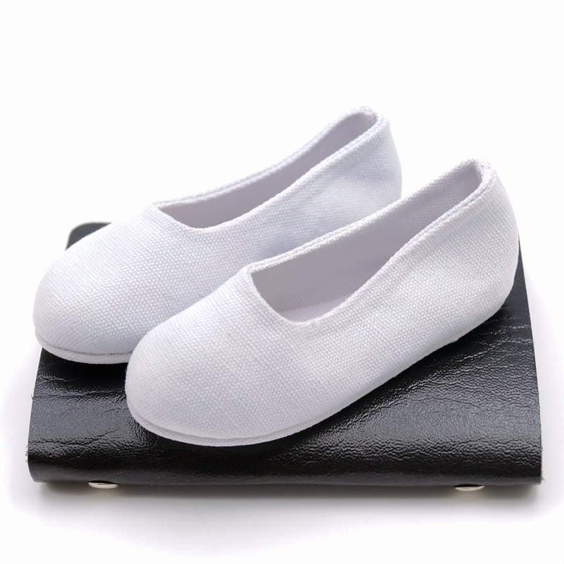White Chinese Ancient costume Shoes For 70cm SD17 BJD AOD AS DOLL 9cm length