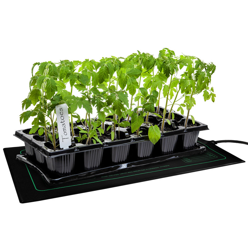 20x20 Phlizon Waterproof Seedling Heat Mat for Germination Warm Hydroponic Heating Pad for Seed Starting Propagation MET Standard