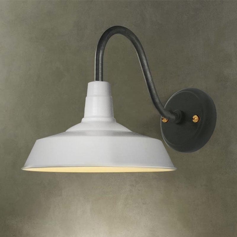 Gooseneck Wall Light Fixture Sconce Vintage Industrial