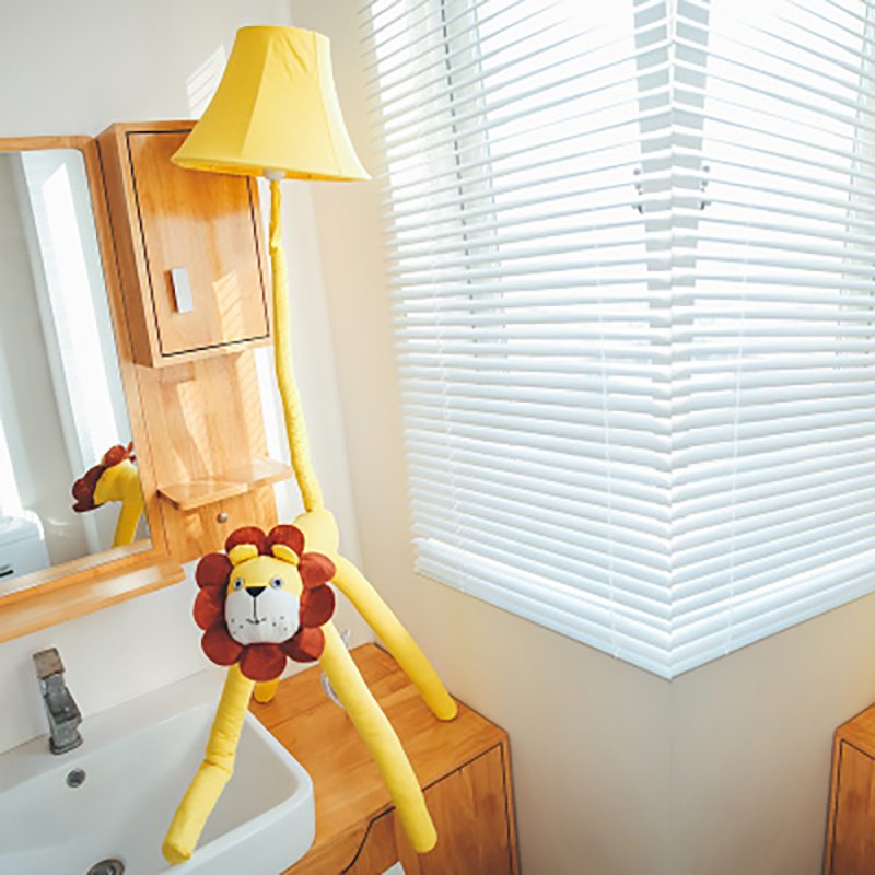 Modern Cartoon Lion Led Floor Light