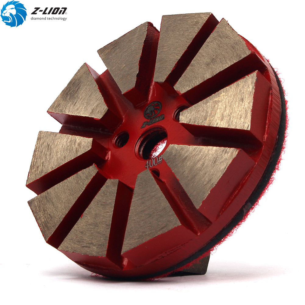 Details About 3 Diamond Floor Polishing Pads Grit 400 Metal Bond Grinding Disc Terrazzo Tool
