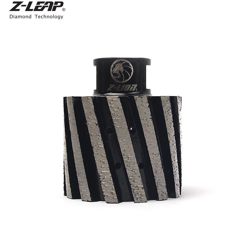 "2/"" Zero Tolerance Diamond Polishing Drum Wheel Metal Segt Hole Grinding Wheel"
