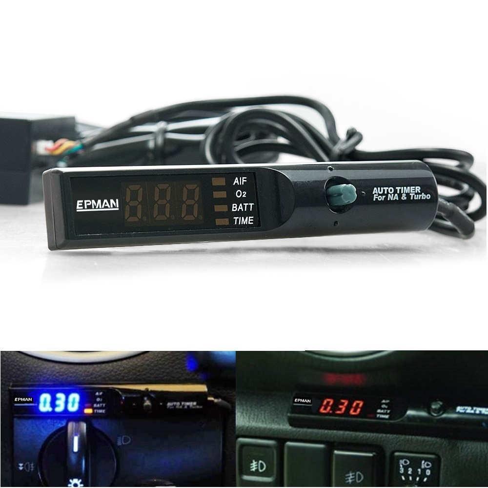 Blue Universal Programmable Pen Style NA Turbo PSI Timer LED Digital Display