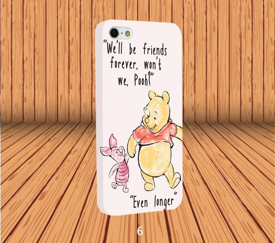 Wrapped Disney Winnie The Pooh Protective Hard Phone Case Cover for Smart Phone