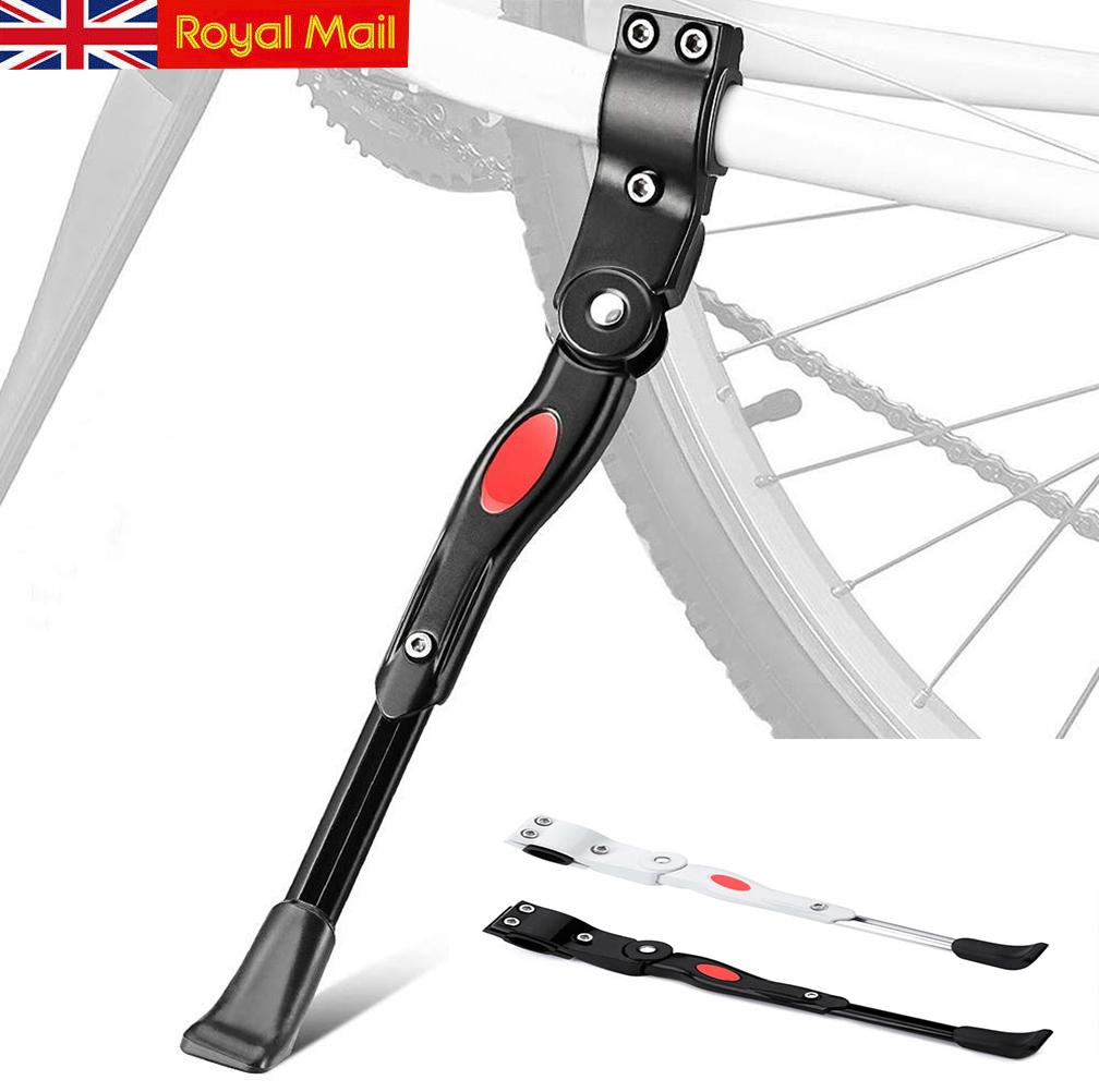 Mountain Bike Bicycle Cycle Kick Stand Adjustable Rubber Foot Heavy Duty Prop UK