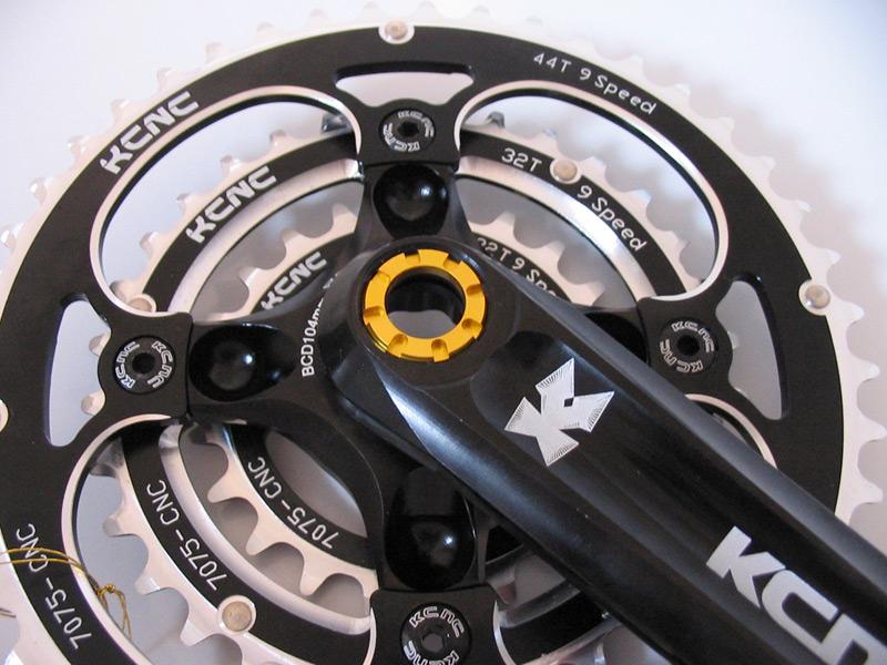 KCNC Bicycle Crank Self-Extractor M22 for Truvativ//FSA//Shimano crankset Black
