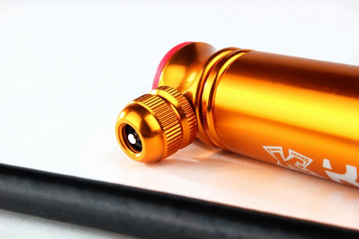 KCNC KOT07 Bicycle Bike Mini Portable Hand Pump 120psi for Presta/&Schrader Red