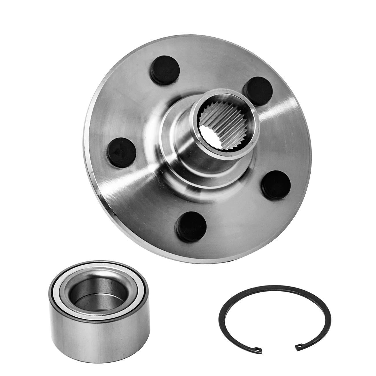 Rear Wheel Hub  U0026 Bearing Assembly For 02