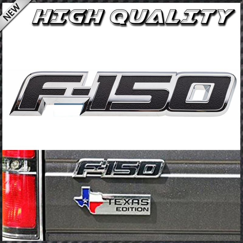 OEM NEW Rear Tailgate Right Left Fender Emblem Nameplate 09-14 Ford F-150 FX4