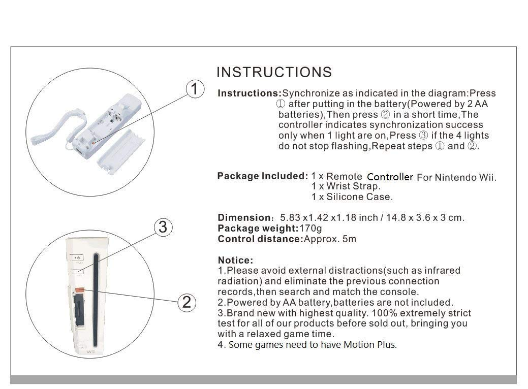 2pcs Motion Plus Remote Controller Nunchuck Combo Set For Wii Playstation 2 Wiring Diagram U Console