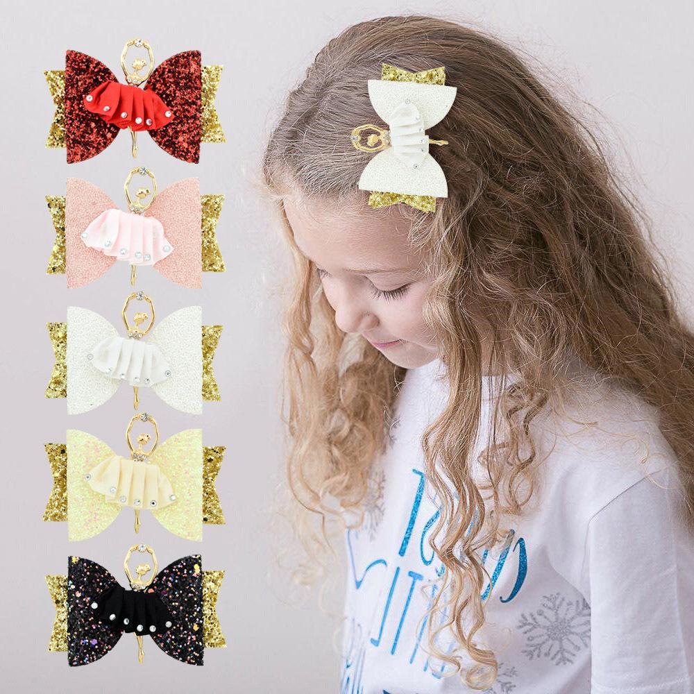 Süßes Baby Neugeborenen Kinder Mädchen Bogen Bowknot Haarspangen Haarnadel WZ