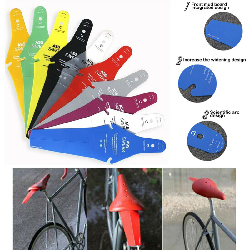 Ass Bicycle Fender Mountain Bike Spare Parts Mudguards Road /& Rain Saver