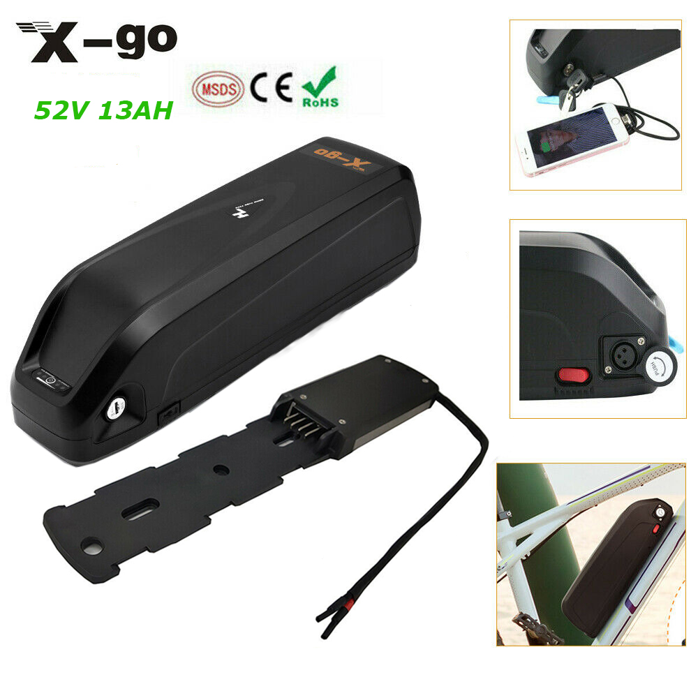 48V 13Ah Hailong Lithium ion Ebike Battery for 750W 1000W Electric Bicycle Motor