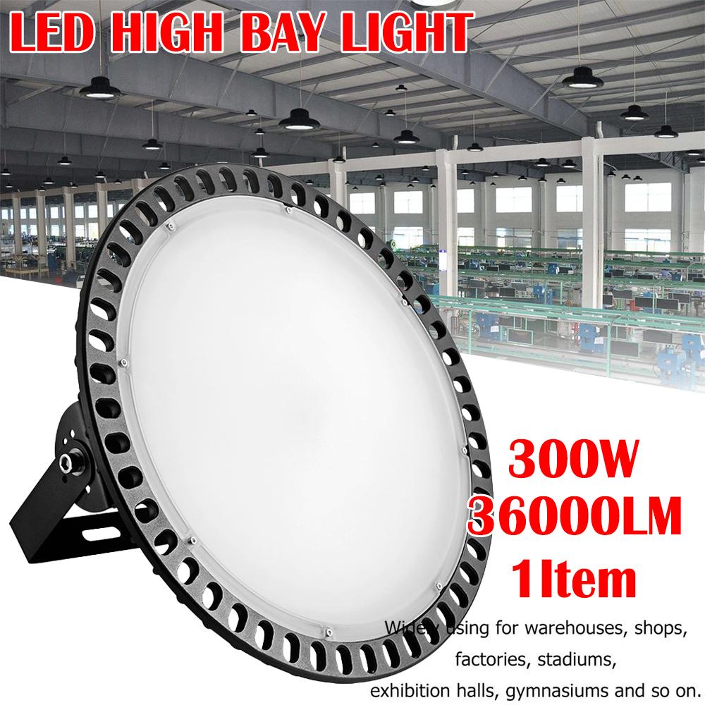 20X 200W UFO LED High Bay Light Industrial Warehouse Factory Workshop Lighting