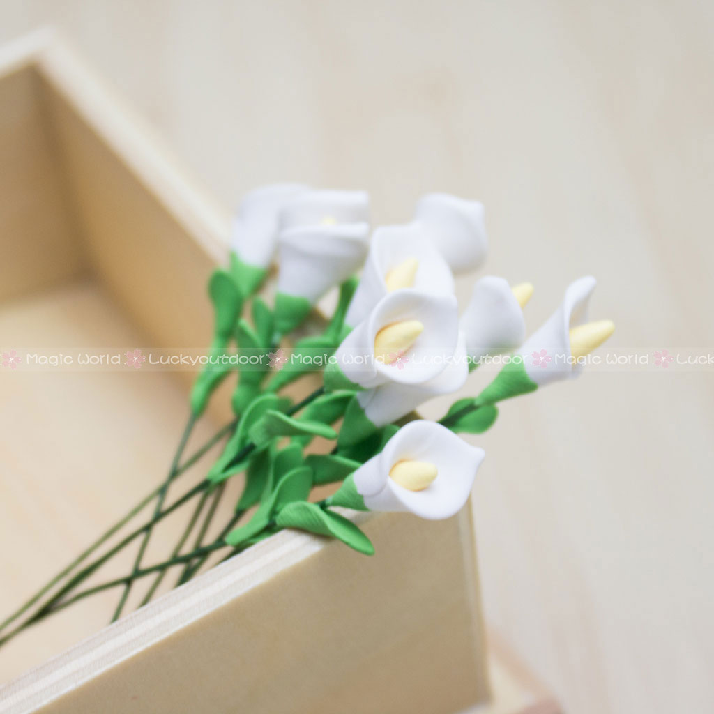 10pcs white calla lilies flowers handcrafted dollhouse miniatures 10pcs white calla lilies flowers handcrafted dollhouse miniatures decor 112 izmirmasajfo