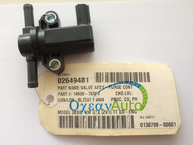 OE# 14930-7S000 For Nissan Infinit Armada Frontier Vapor Canister Purge Solenoid