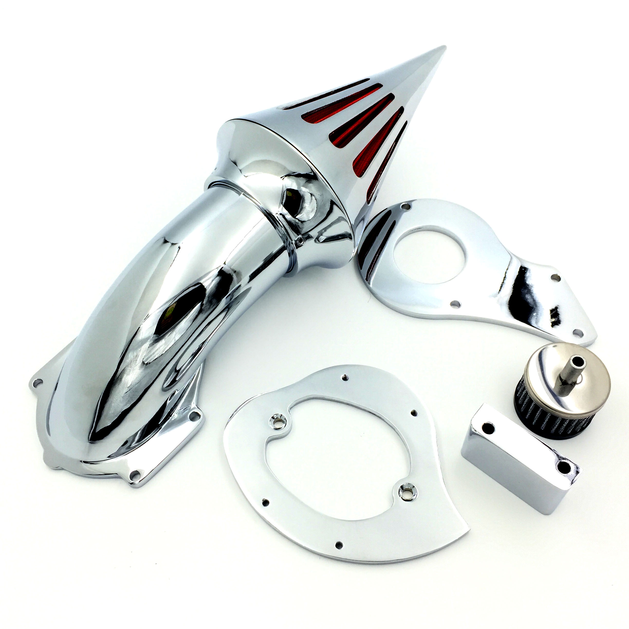 New spike air cleaner kits filter for 99 12 honda shadow 600 vlx600chrome