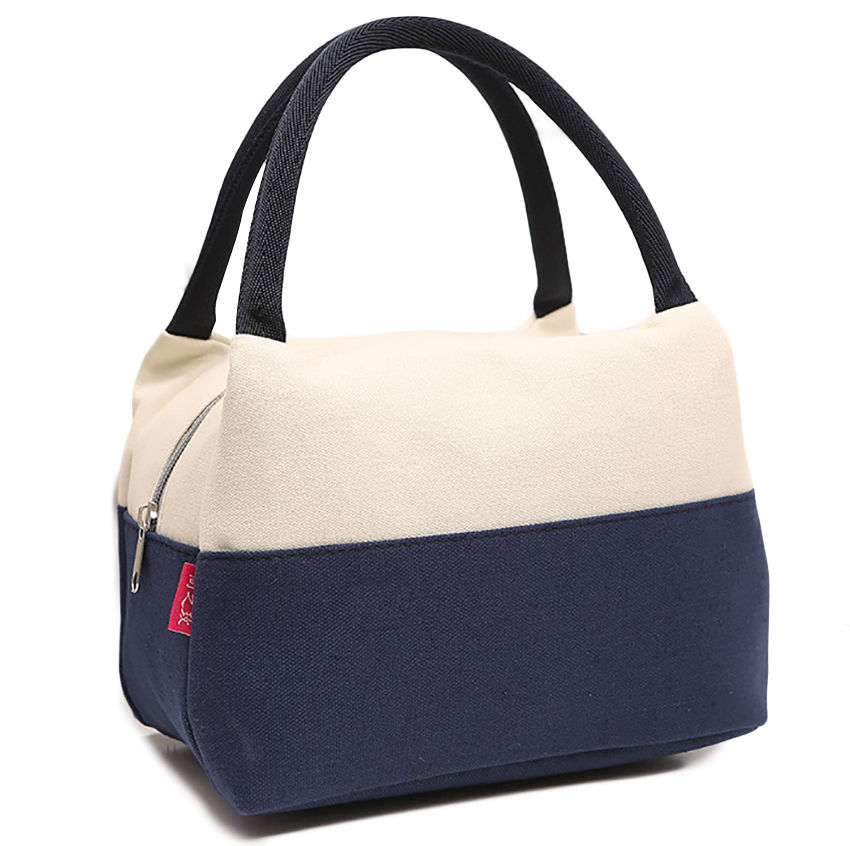 Portable-Canvas-Insulated-Lunch-Carry-Toe-Cooler-Travel-Picnic-Bag-Box-Case