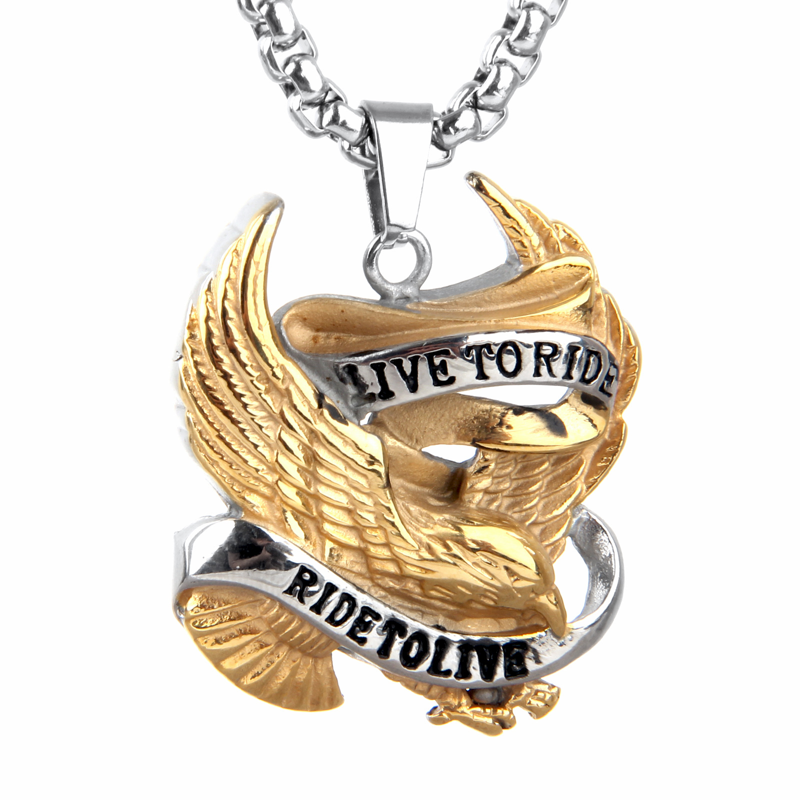 shipping free today i watches accent isabella eagle h overstock product diamond collection jewelry pendant gold yellow men mens s