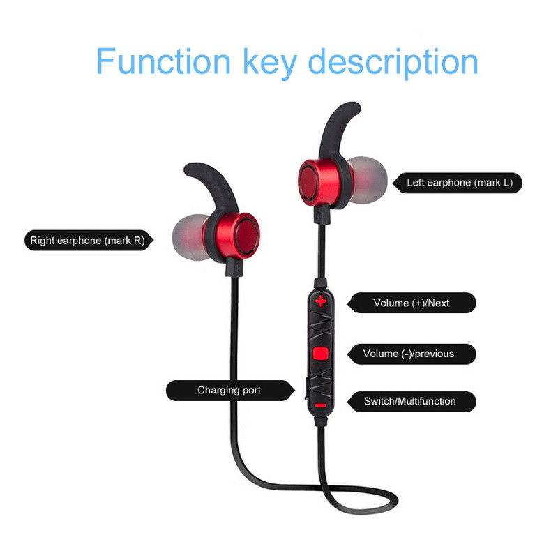 sports in ear kopfh rer bluetooth kabellos bass hifi. Black Bedroom Furniture Sets. Home Design Ideas