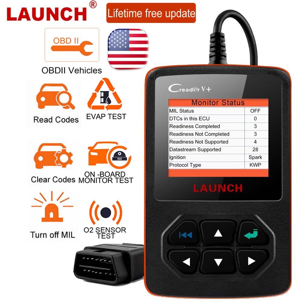 Details about LAUNCH Creader V+ OBD2 Car Code Reader Scanner I/M Readiness  Engine Light Check