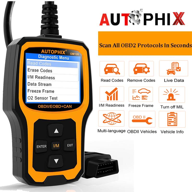 Vehicle Code Reader >> Obdii Scanner Vehicle Code Reader Auto Diagnostic Check