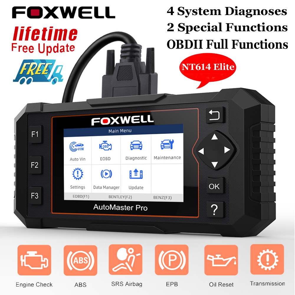 Automotive Scan Tool >> Details Sur Automotive Scanner Abs Airbag Epb Oil Reset Obdii Auto Diagnostic Tool Foxwell
